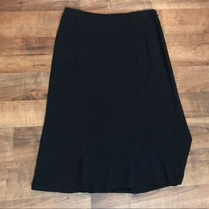Investments black business a-line skirt